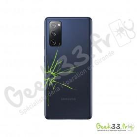 Réparation vitre arrière Samsung S20 FE (G780F)
