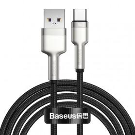 Cable de charge Baseus CATJK-B01 Cafule Series 40W USB to Type-C / USB-C Câble de données de charge en métal, longueur: 2 ...