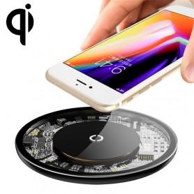 chargeur sans fil Baseus transparent 2,5W/5W/10W Max QI
