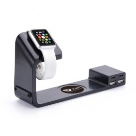 Socle de charge support Apple iWatch NFC combo Itian