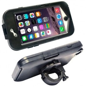 Support protection imperméable anti-chocs vélo / moto pour iPhone 6/6S