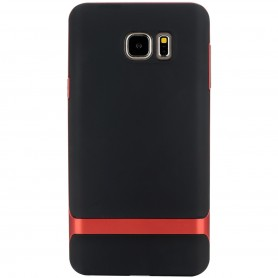 Coque Galaxy Note 5 ROCK contour bumper rouge Royce series