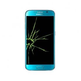 Réparation Samsung Galaxy S6 G920F vitre + écran LED (Réparation uniquement en magasin)