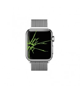 Réparation Apple Watch 38mm Serie 2 Vitre + LCD (Réparation uniquement en magasin)