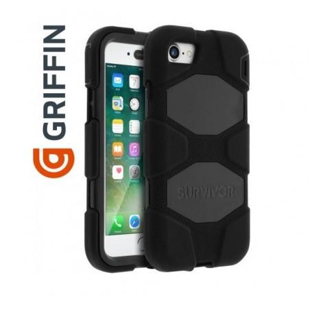 Coque Survivor All-Terrain Military - Griffin - Noir pour Apple iPhone 7/8