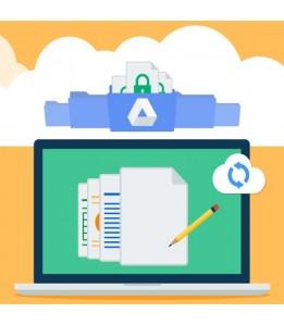Forfait Pro sauvegarde automatique sur Google Drive