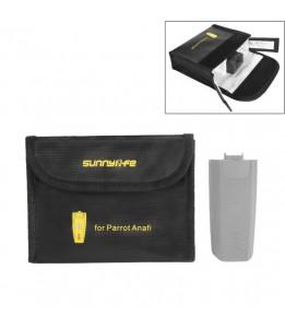 Sac De Protection de batterie Pour Drone Anafi Parrot x3