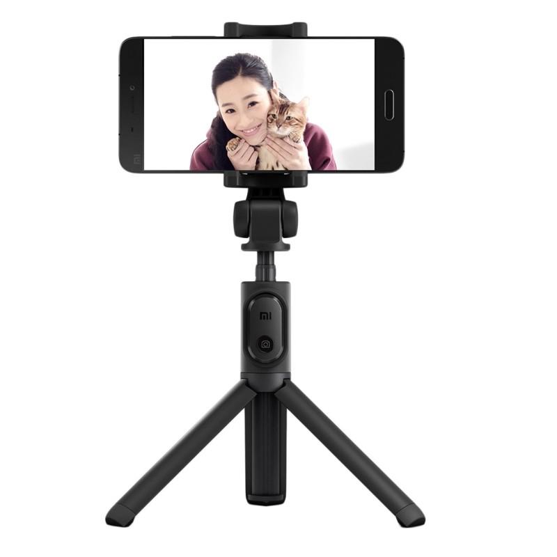 Xiaomi Perche Selfie - 2 en 1 multifonction Bluetooth - trépied avec télécommande (noir)
