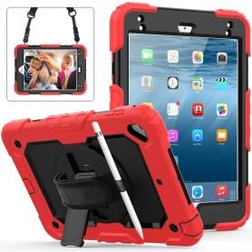 Coque Anti-choc pour Apple iPad mini 4/5 - Housse de Protection Antichoc Étui en Plastique de Silicone Hybrid Case Cover ave...