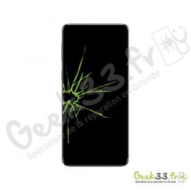 Réparation écran Samsung Galaxy S10 Plus SM-G975 vitre Amoled et chassis
