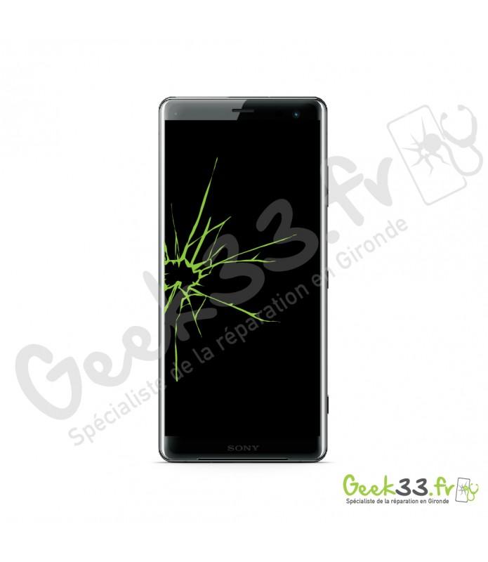 Réparation écran Sony Xperia XZ3 Vitre + LCD