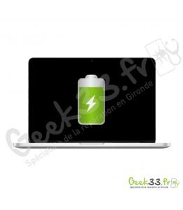 Remplacement batterie Macbook Pro A1502