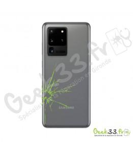 Réparation vitre arriere Samsung S20 Ultra