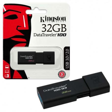 Cle USB 32Go Kingston DataTraveler 100 G3
